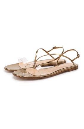 Комбинированные сандалии | Фото №1