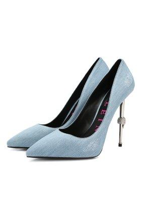 Текстильные туфли Decollete   Фото №1