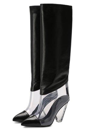 Кожаные сапоги Lila | Фото №1