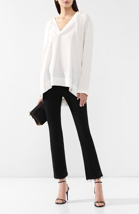 Женские джинсы SAINT LAURENT черного цвета, арт. 570797/YF869 | Фото 2