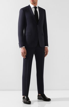 Мужской шерстяной костюм  BRIONI темно-синего цвета, арт. RA0J12/P8A2N/BRUNIC0 | Фото 1