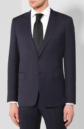 Мужской шерстяной костюм  BRIONI темно-синего цвета, арт. RA0J12/P8A2N/BRUNIC0 | Фото 2