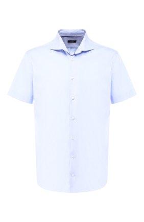 Мужская хлопковая рубашка  VAN LAACK голубого цвета, арт. TIVARA2-S-PTF/150185 | Фото 1