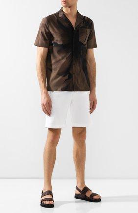 Мужские сандалии из кожи аллигатора DAMI темно-коричневого цвета, арт. 3688/ALLIGAT0R/AMIS | Фото 2