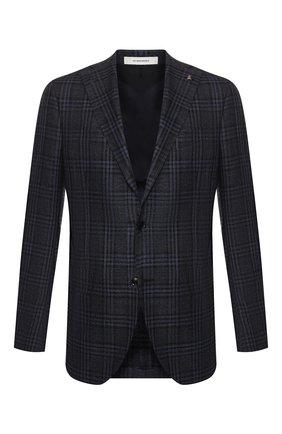 Пиджак из смеси шерсти и шелка   Фото №1