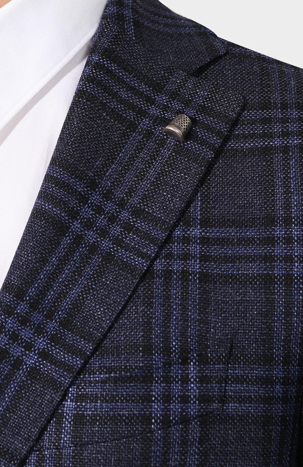 Пиджак из смеси шерсти и шелка   Фото №5