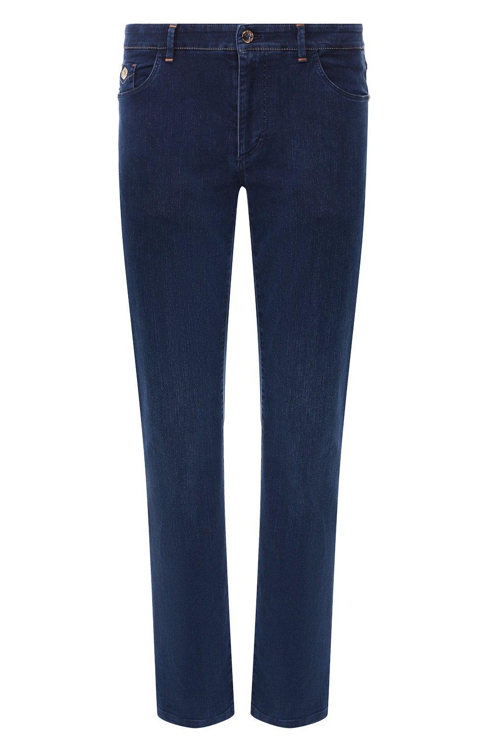 Мужские джинсы ZILLI темно-синего цвета, арт. MCR-00219-DEJA2/R001 | Фото 1