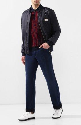 Мужские джинсы ZILLI темно-синего цвета, арт. MCR-00219-DEJA2/R001 | Фото 2