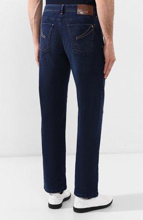 Мужские джинсы ZILLI темно-синего цвета, арт. MCR-00219-DEJA2/R001 | Фото 4