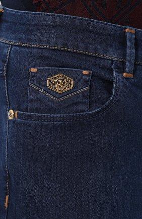 Мужские джинсы ZILLI темно-синего цвета, арт. MCR-00219-DEJA2/R001 | Фото 5