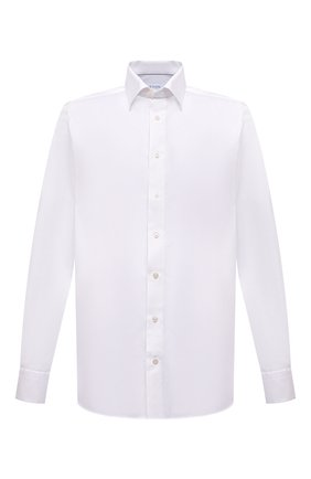 Мужская хлопковая рубашка ETON белого цвета, арт. 4707 61311 | Фото 1
