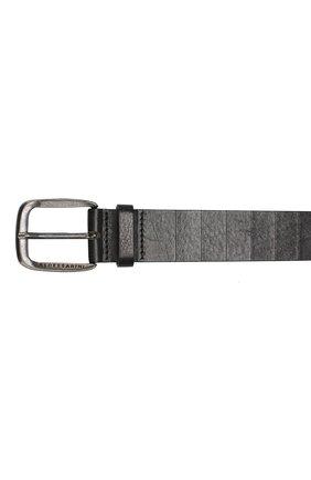 Кожаный ремень Baldessarini черный | Фото №3