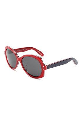 Детские солнцезащитные очки OLIVER GOLDSMITH красного цвета, арт. M00NSHINE | Фото 1