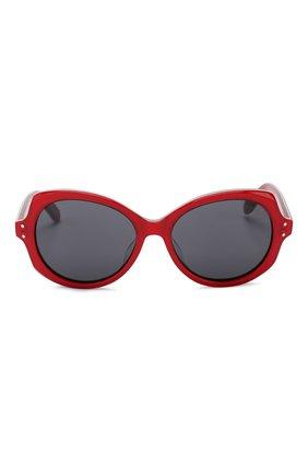 Детские солнцезащитные очки OLIVER GOLDSMITH красного цвета, арт. M00NSHINE | Фото 2