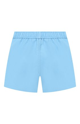 Детские плавки-шорты MINI RODINI голубого цвета, арт. 1928012750 | Фото 2