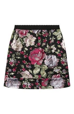 Жаккардовая юбка | Фото №1