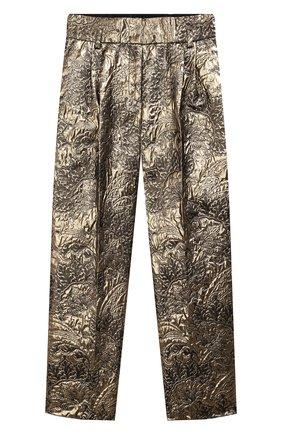 Жаккардовые брюки | Фото №1