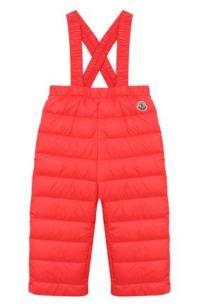 Детский комплект из куртки и комбинезона MONCLER ENFANT кораллового цвета, арт. E1-951-70340-05-53048 | Фото 3