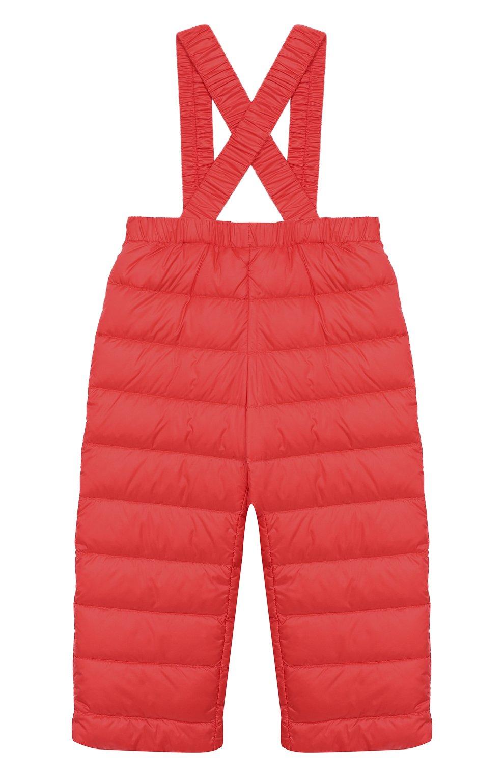 Детский комплект из куртки и комбинезона MONCLER ENFANT кораллового цвета, арт. E1-951-70340-05-53048 | Фото 4