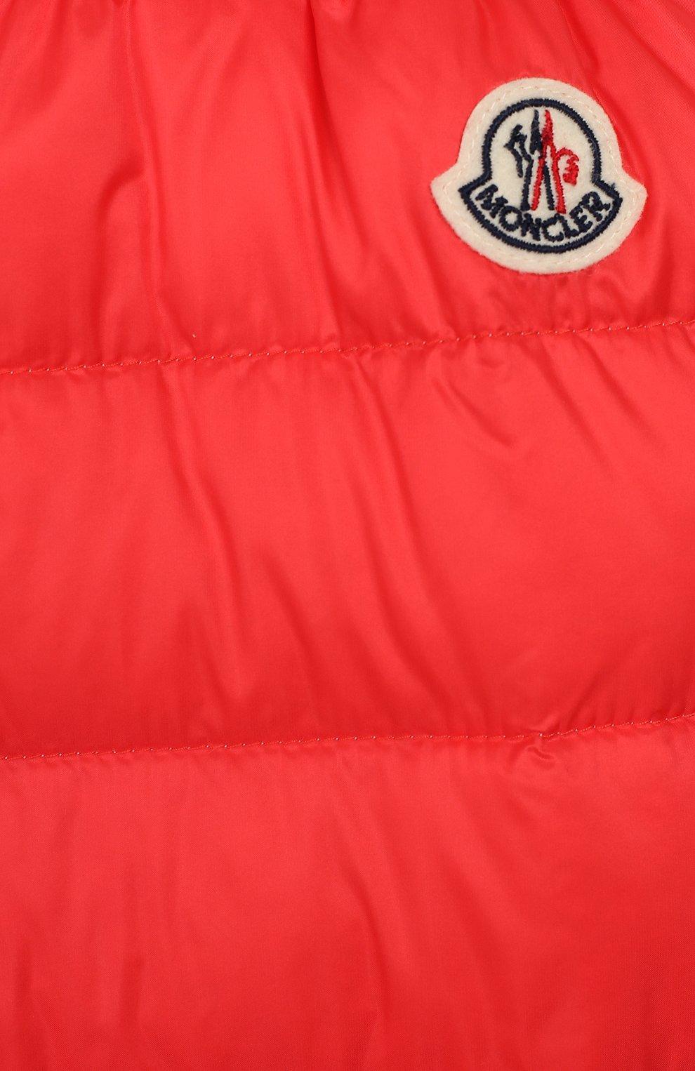Детский комплект из куртки и комбинезона MONCLER ENFANT кораллового цвета, арт. E1-951-70340-05-53048 | Фото 5