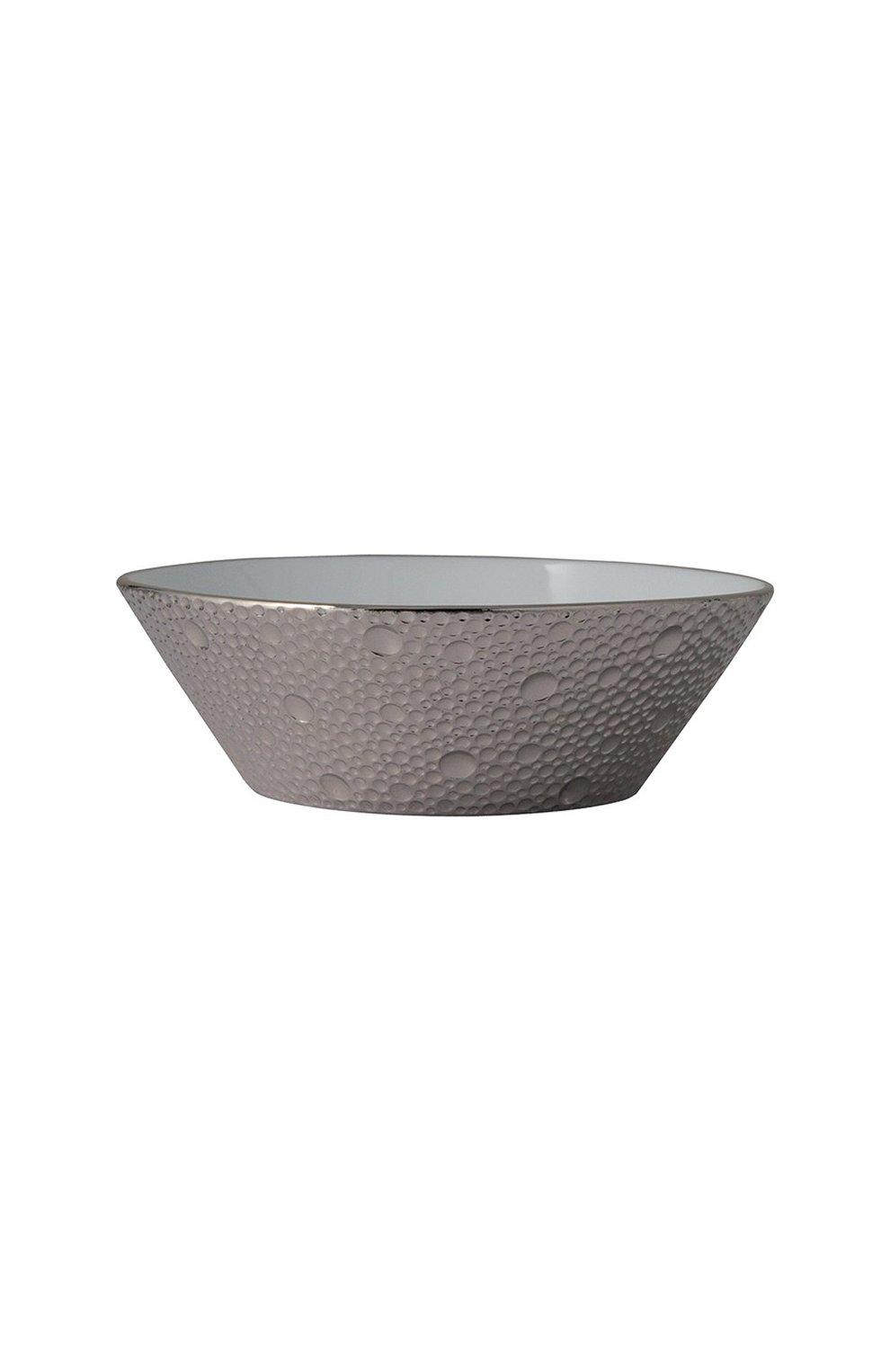 Мужского конфетница ecume silver BERNARDAUD серебряного цвета, арт. 0738/7188   Фото 1
