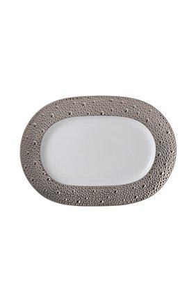 Блюдо ecume silver small BERNARDAUD серебряного цвета, арт. 0738/125 | Фото 1 (Статус проверки: Проверена категория; Ограничения доставки: fragile-2)