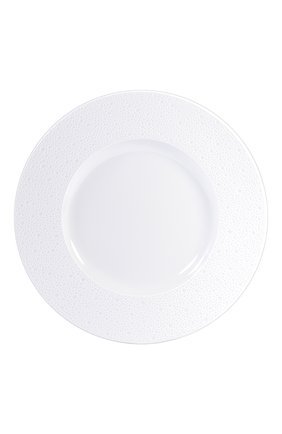 Мужского тарелка сервировочная ecume white BERNARDAUD белого цвета, арт. 0733/20248 | Фото 1