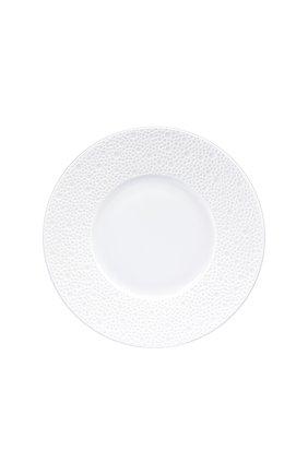 Мужского тарелка для хлеба и масла ecume white BERNARDAUD белого цвета, арт. 0733/20251 | Фото 1