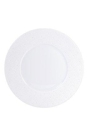 Тарелка обеденная Ecume White | Фото №1