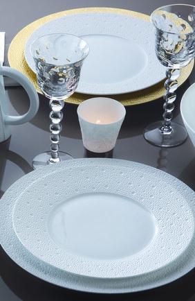 Тарелка обеденная ecume white BERNARDAUD белого цвета, арт. 0733/20249 | Фото 2