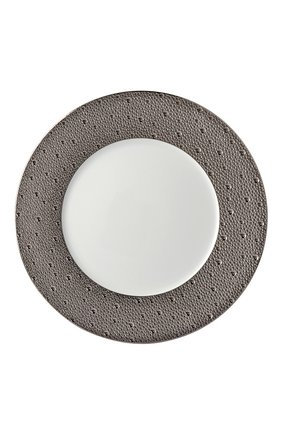 Тарелка сервировочная Ecume Silver | Фото №1