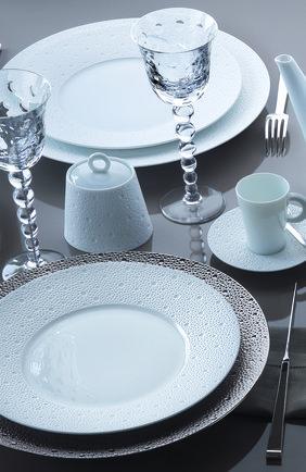 Мужского кофейная чашка с блюдцем ecume white BERNARDAUD белого цвета, арт. 0733/20451 | Фото 2
