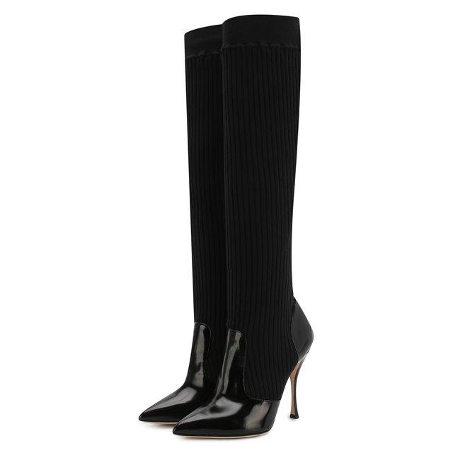 Комбинированные сапоги Lori Dolce & Gabbana