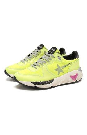 Замшевые кроссовки Running  | Фото №1