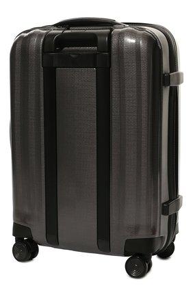 Женский дорожный чемодан lite cube SAMSONITE серого цвета, арт. 82V-28002 | Фото 2