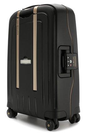 Женский дорожный чемодан s'cure dlx medium SAMSONITE черного цвета, арт. U44-29001 | Фото 2