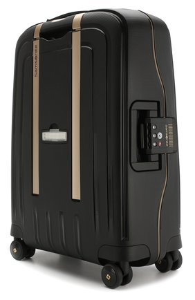 Женский дорожный чемодан s'cure dlx SAMSONITE черного цвета, арт. U44-29003 | Фото 2