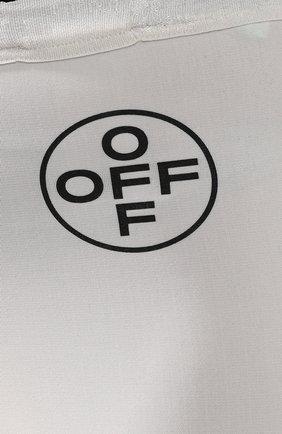Шорты Off-White черно-белые | Фото №5