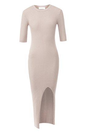 Платье из смеси хлопка и кашемира | Фото №1