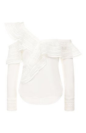 Блузка с оборкой   Фото №1