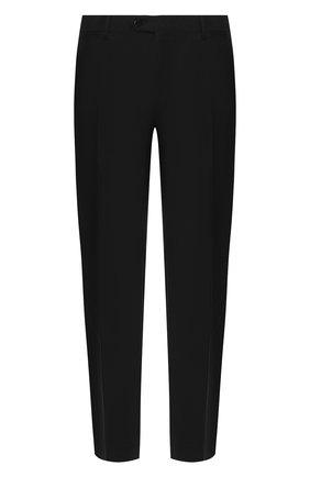 Мужской шерстяные брюки BRIONI черного цвета, арт. RPL240/PZA00/M0ENA | Фото 1