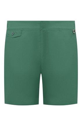 Детского плавки-шорты RALPH LAUREN зеленого цвета, арт. 790743432   Фото 1
