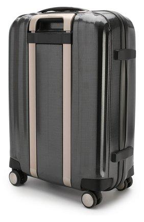 Женский дорожный чемодан lite cube SAMSONITE темно-серого цвета, арт. 33V-28004 | Фото 2