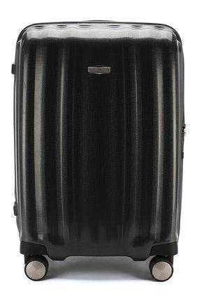 Женский дорожный чемодан lite cube medium SAMSONITE темно-серого цвета, арт. 33V-28005 | Фото 1