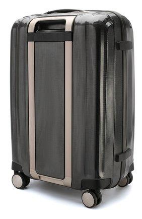 Женский дорожный чемодан lite cube medium SAMSONITE темно-серого цвета, арт. 33V-28005 | Фото 2