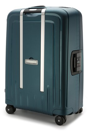 Женский дорожный чемодан s'cure dlx medium SAMSONITE зеленого цвета, арт. U44-04001 | Фото 2