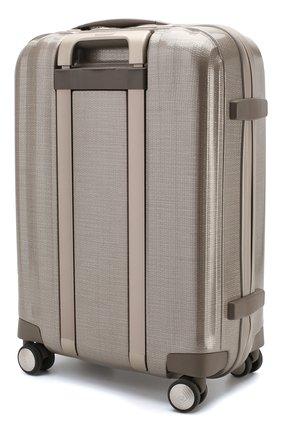 Женский дорожный чемодан lite cube SAMSONITE светло-бежевого цвета, арт. 33V-05004 | Фото 2