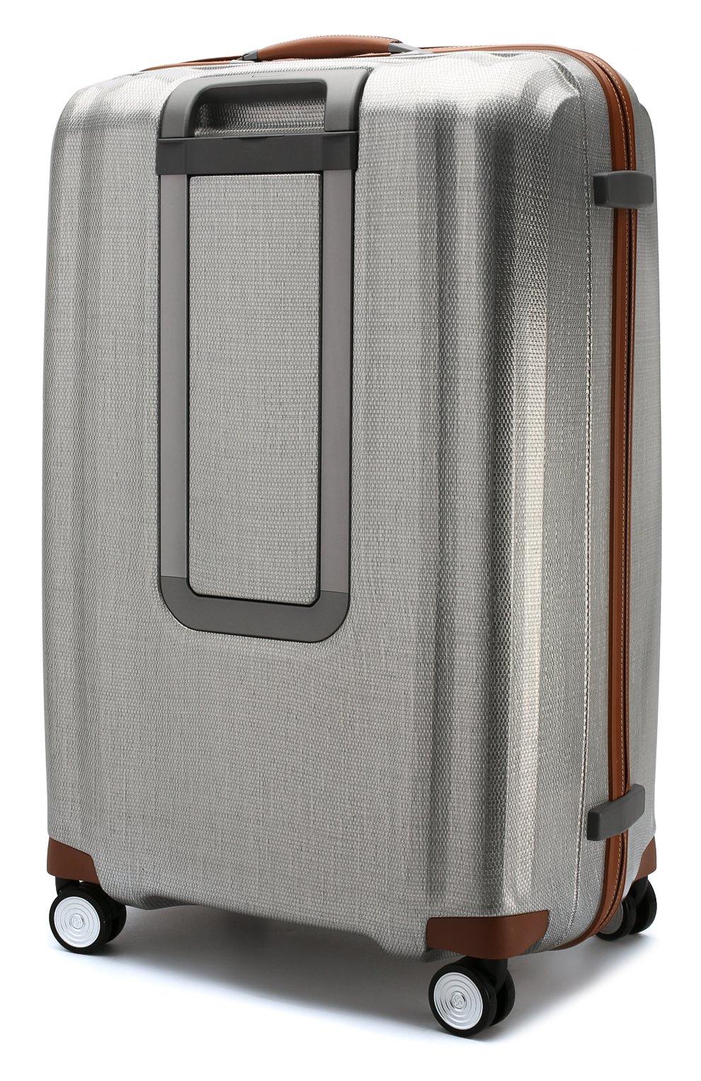 Женский дорожный чемодан lite cube dlx extra large SAMSONITE серебряного цвета, арт. 82V-08005   Фото 2 (Статус проверки: Проверено, Проверена категория; Ограничения доставки: oversized; Размер: large)