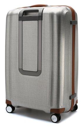 Женский дорожный чемодан lite cube dlx extra large SAMSONITE серебряного цвета, арт. 82V-08005 | Фото 2