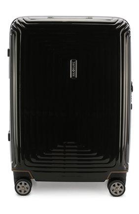 Женский дорожный чемодан neopulse  SAMSONITE черного цвета, арт. 44D-09001   Фото 1